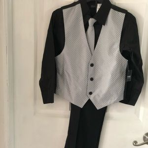4 pc Boys Dress Set